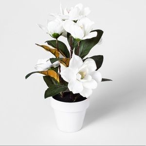 THRESHOLD | Silk Magnolia Potted Plant